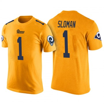 Youth Sam Sloman Los Angeles Rams Yellow Color Rush Legend T-Shirt